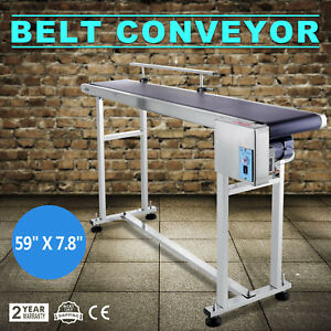 Power Slider Bed Pvc Belt Electric Conveyor Stainless Steel Automatic Top grade