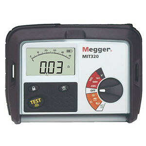 Megger Mit320 Insulation Tester And Continuity Tester