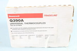 New Honeywell Tradeline Q390a Universal Thermocouples Ten To A Pack