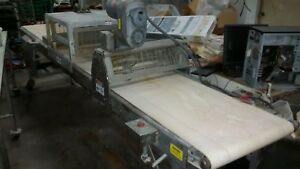 Moline 24 Wide Belt Dough Cutter With Guillotine