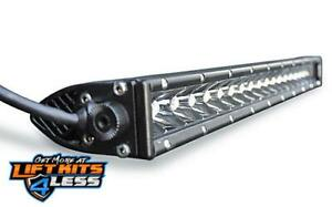 Dv8 Offroad Bs30e90w5w Slim 30 Light Bar 140w Spot 5w Cree Led Black Universal