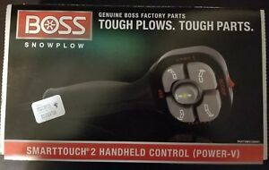 Boss Snow Plow Controller Smart Touch Ii Boss Snow Plow Msc09601