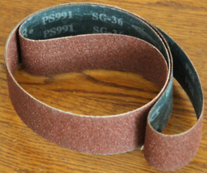 2 X 72 Ceramic Sanding Belts 36 Grit 10 Belts