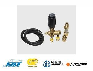 Vrt3 Unloader Valve Kit Comet Annovi Reverberi Cat General Pump Repair Kit