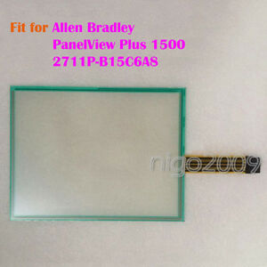 For Allen Bradley Panelview Plus 1500 2711p b15c6a8 Touch Screen Glass New