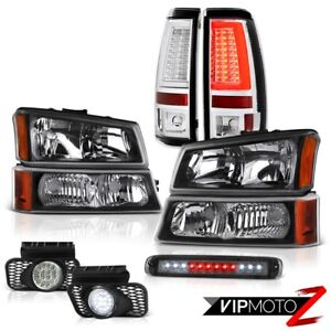 03 06 Chevy Silverado 2500hd Tail Lamps High Stop Lamp Headlights Fog Lights Drl
