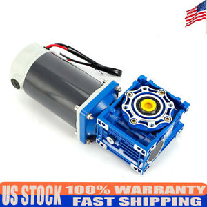 Electric Dc12v 24v 90w 300w Two speed Gear Motor Set Adjustable 90 203mm