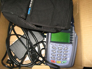 Verifone Vx 610 Credit Card Reader With Power Supply
