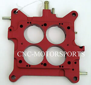Aed Holley Billet Carb Baseplate With Vacuum Ports 850 1000 Carburetor
