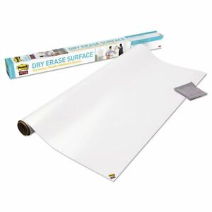 Post it Dry Erase Surface 8 X 4 Instant Whiteboard Walls Tables Desks Sticky