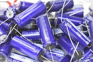 Nichicon Tlb1v332wdaarb Electrolytic Capacitor 3300uf 35v 20 Lot Of 50
