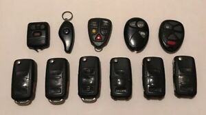 Key Fob Lot Volkswagon Volvo Keyless Entry Alarm Devices