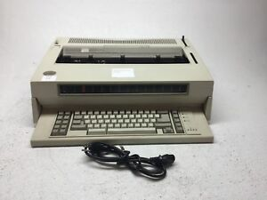 Ibm Wheelwriter 6 Series Ii Electronic Typewriter Type 6784 Tested