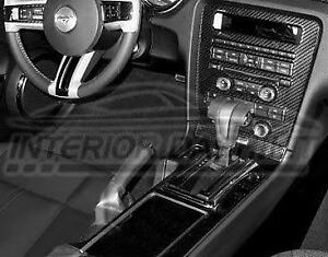 2011 2012 Ford Mustang Gt St 500 Shelby Real Carbon Fiber Interior Dash Trim Kit