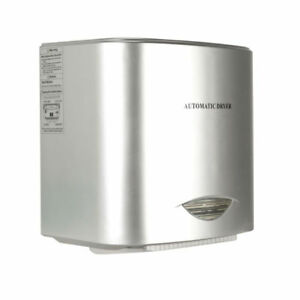 Heavy Duty Commercial 1800w High Speed Automatic Hot Hand Dryer Abs Plastic