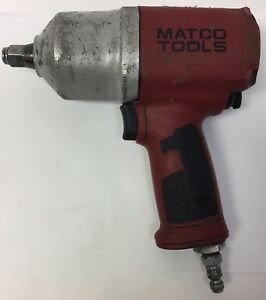 Matco Tools Heavy Duty 1 2 Drive Air Impact Wrench Gun Mt1769a Tested