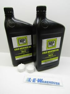 2 Pk Meyer Snow Plow Low Temp Hydraulic Fluid 1 Quart