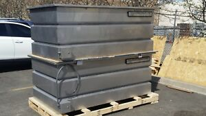 7 Pa Hydrographics Stainless Steel Dipping And Rinse Tanks With Extras