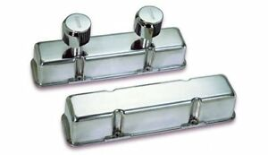 Moroso Die Cast Aluminum Valve Covers 68374 Chevy Sbc 283 305 350 400 Polished