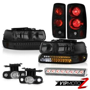 00 06 Chevy Suburban Z71 Third Brake Lamp Fog Lights Tail Smoked Headlights Led