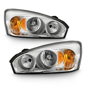 04 07 Chevy Malibu Factory Style Left Right Headlight Replacement Lamp Assembly