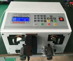 Automatic Double Cable Computer Wire Cutting Peeling Stripping Machine Stripper