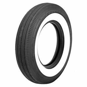 Coker Classic Bias Ply Tire 6 70 15 Bias Ply 2 750 In Whitewall 57700 Each