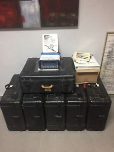 Ashtech Gps Units Bundle Five Model Z 12 And Two Mxii Used In Good Condition