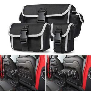Car Seat Back Organizers Seat Storage Bags For Jeep Wrangler Jl Rubicon 2018 19