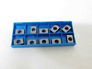 Ingersoll Cutting Tools Carbide Milling Inserts Yxm323 001 In2010 Qty 10 5803440