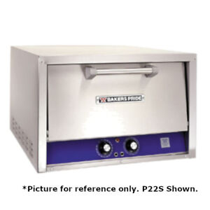 Bakers Pride P24 bl Brick Lined Electric Countertop Bake And Roast Oven