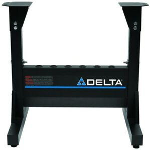 Delta Midi Lathe Stand Work Support Heavy Duty Shop Power Tool Accessory Silver