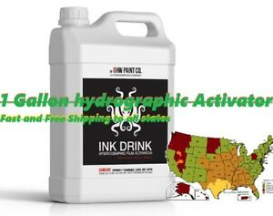 Hydrographic Hydro Water Transfer 1 Gallon Activator Water Transfer Printing Dip