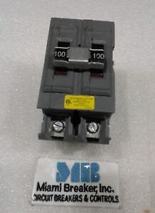 Ubia2100ni Wadsworth Circuit Breaker 2pole 100a 120 240v New