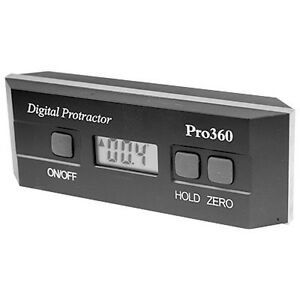 360 Digital Level Protractor With 0 1 Resolution new Ds