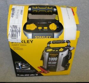 Battery Jump Starter Portable Car Charger Booster Stanley 12 Volt Usb