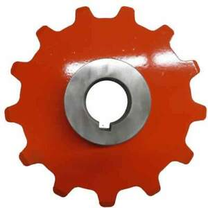 13 Tooth Plate Sprocket 2 609 Inch Pitch X 7 8 Plate With A Weld In 1 7 16 Inch