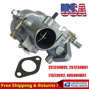 Carburetor For 251234r91 Ih Farmall Tractor Cub 154 184 185 C60 251234r92 Us