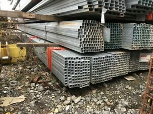 100 Pcs Hot Dipped Galvanized Steel Square Tubing 1 X 065 X 24 1760 Lbs T