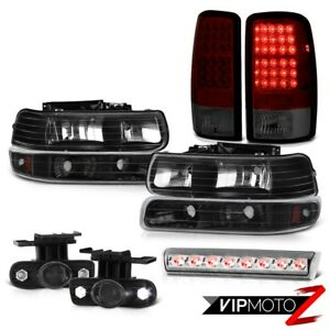 2000 2006 Tahoe 4x4 Euro Clear Roof Cargo Lamp Fog Lamps Taillamps Headlights