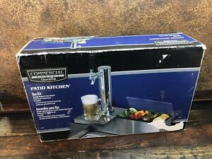 21995 New Char broil Commecial Outdoor Kitchen Bar Beer Tap Kit System In Box