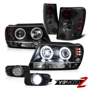 Ccfl Projector Headlight Tail Lights Led Fog Lamp Jeep 99 03 Grand Cherokee Wj