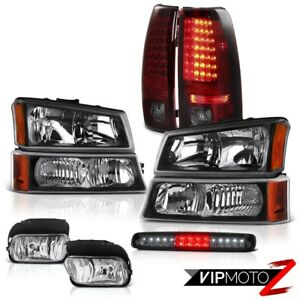 2003 2006 Chevy Silverado 2500hd Headlamps Fog Lights Roof Cab Light Tail Lamps