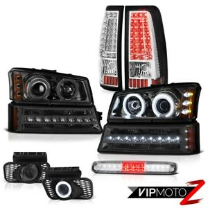 03 06 Chevy Silverado 2500hd Roof Cab Light Foglamps Taillamps Signal Headlamps