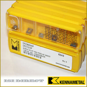 Cpgt 2151hp Kc5410 Kennametal 10 Inserts Factory Pack 060204