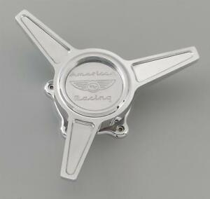 American Racing Center Cap Bolt on Spinner Polished Aluminum 41054031b1 Are Logo