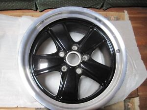 Porsche Oem Fuchs Style Rear Wheel Black Center 19x11 5 New Sport Classic
