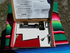 Lee Percision Safety Powder Scale New In Box