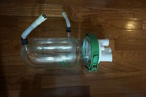 Chemglass Glass Reactor 1l 1 Liter Process Jacketed Head Lid Ptfe 24 20 29 42