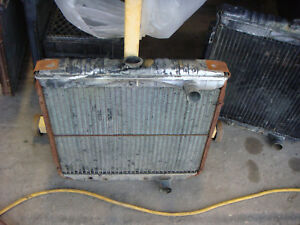 1969 Ford Mustang Mach 1 Shelby Radiator C9zz 8005 b 302 351w Fastback Coupe